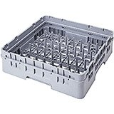 Soft Gray, 5 X 9 Peg Rack, Full Size Dish Rack, 1 Extender