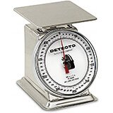 """Stainless Steel, 6"""" Rotating Dial, Analog Scale, 500 Gram"""