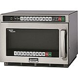 Stainless Steel, Heavy Duty Microwave Oven, Dual Touch Pads, Programmable, 1800 W