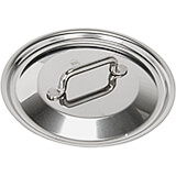 "6.3"" Stainless Steel Lid with Welded Handle, Horeca R Collection"