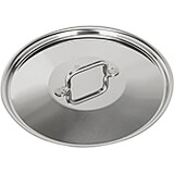 """15.75"""" Stainless Steel Lid with Welded Handle, Horeca R Collection"""