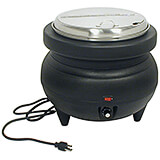 Stainless Steel Premium Soup Warmer, 11.4 Qt Kettle