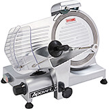 "Aluminum Light Duty Meat Slicer, 10"" Diam. Blade, 1/4 HP Motor"