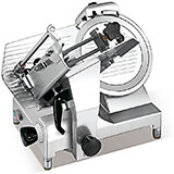 "Aluminum Medium Duty Meat Slicer, 12"" Diam. Blade, 1/2 HP High Torque Motor"