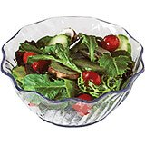 Clear, 13 Oz. Polycarbonate Swirl Bowl, 24/PK
