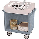 Granite Gray, Tray and Dish Cart, Cart Only