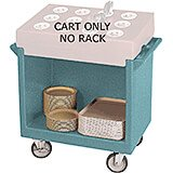 Granite Green, Tray and Dish Cart, Cart Only