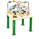 Traffic Jam Roller Coaster Wire and Bead Table