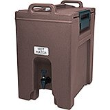 Dark Brown, 10.5 Gal. Insulated Beverage Dispenser, Ultra Camtainer