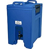 Navy Blue, 10.5 Gal. Insulated Beverage Dispenser, Ultra Camtainer