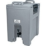 Granite Gray, 10.5 Gal. Insulated Beverage Dispenser, Ultra Camtainer