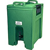 Green, 10.5 Gal. Insulated Beverage Dispenser, Ultra Camtainer