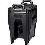 Black, 2.75 Gal. Insulated Beverage Dispenser, Ultra Camtainer