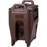 Dark Brown, 2.75 Gal. Insulated Beverage Dispenser, Ultra Camtainer