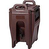 Dark Brown, 2.75 Gal. Insulated Beverage Dispenser, Ultra Camtainer