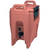 Brick Red, 2.75 Gal. Insulated Beverage Dispenser, Ultra Camtainer