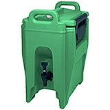 Green, 2.75 Gal. Insulated Beverage Dispenser, Ultra Camtainer