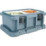 "Slate Blue, Insulated Food Carrier for 6"" Deep Pans"
