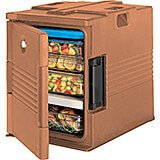 Coffee Beige, Ultra Insulated Food Carrier, No Casters
