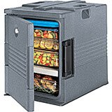 Granite Gray, Ultra Insulated Food Carrier, No Casters