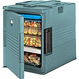 Granite Green, Ultra Insulated Food Carrier, No Casters
