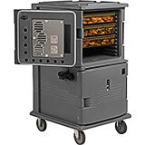 Granite Gray, H-Series Large 2-Compartment Electric Hot Box, 110V