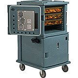 Slate Blue, H-Series Large 2-Compartment Electric Hot Box, 110V