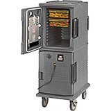 Granite Gray, H-Series 2-Compartment Electric Hot Box, 110V