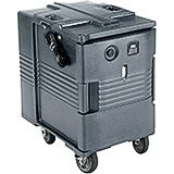 Granite Gray, Electric Hot Box, Food Carrier W/ Casters,110V