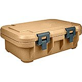 "Coffee Beige, Insulated Food Carrier for 4"" Deep Pans, S-Series"