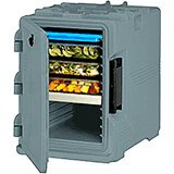 Slate Blue, S-Series Ultra Insulated Food Carrier, Built-in Gasket